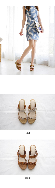 Ankle Strap Wedge Sandals-Holiholic